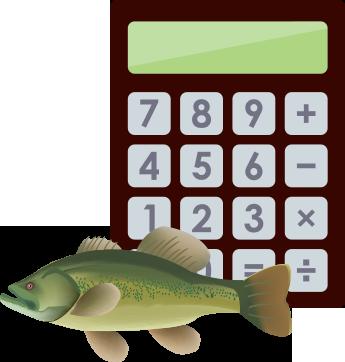 Fin farm llc for Pond fish stocking calculator