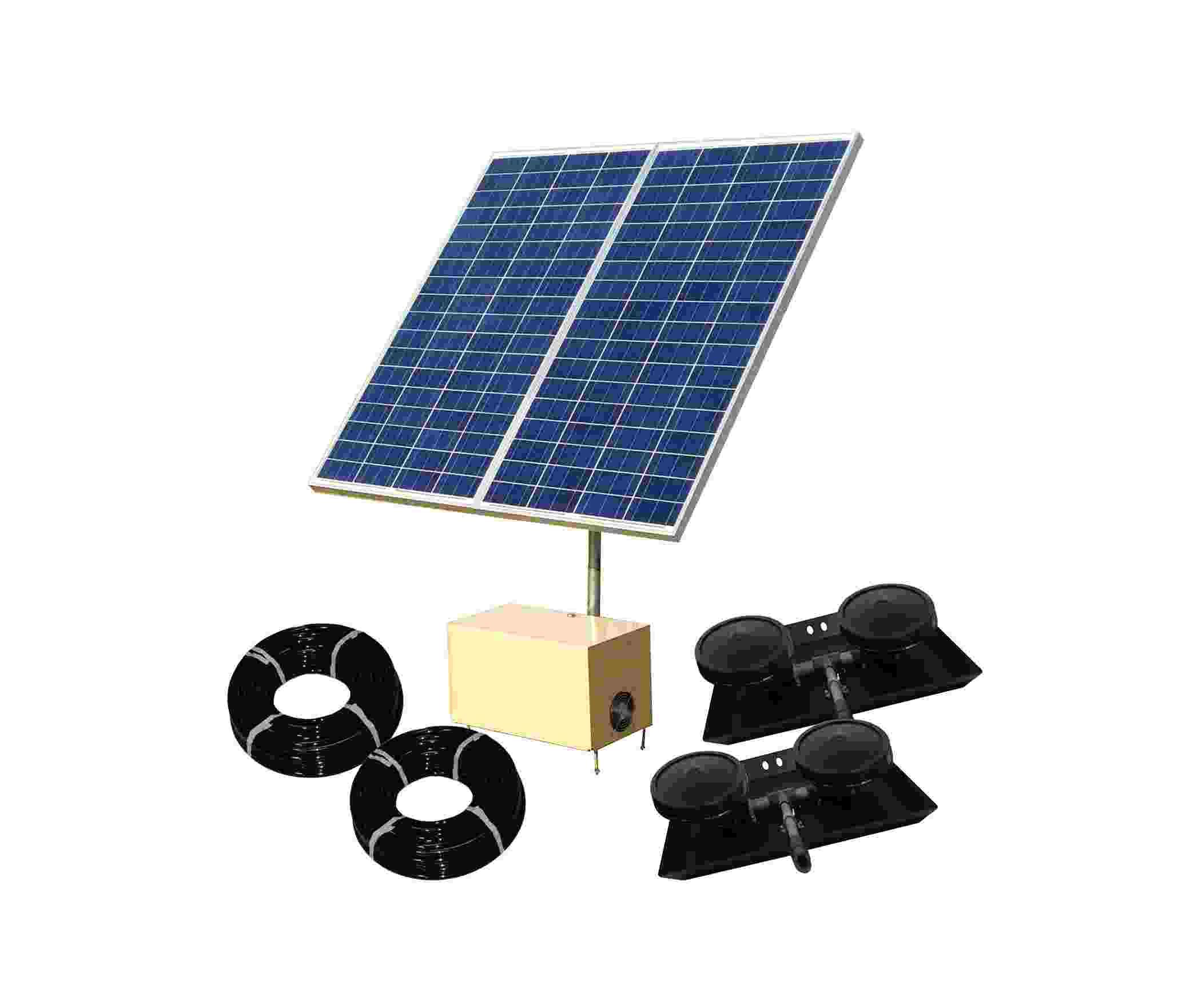 DD Solar 8 Combo - Solar Aerator
