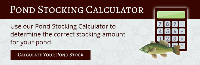 Pond Stocking Calculator